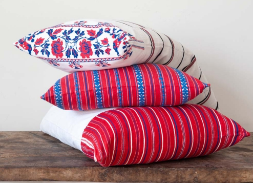 antique transylvanian pillow covers